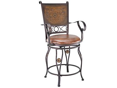 Samantha Swivel Counter Stool