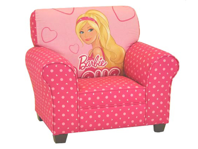 BARBIE KID'S CLUB CHAIR