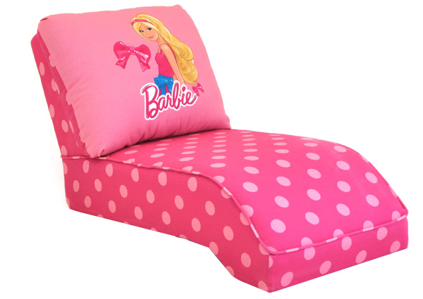 BARBIE KID'S CHAISE