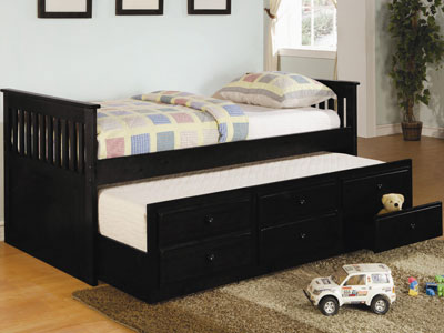 Twin Black Daybed