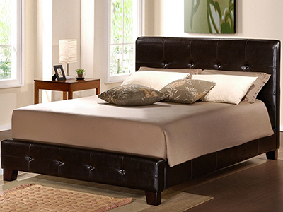 Queen Tufted Bed