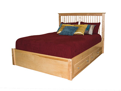 Stratford Full Storage Bed