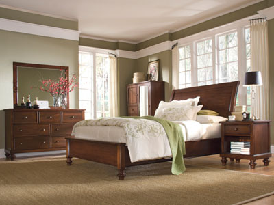 Mirada King Sleigh Bed