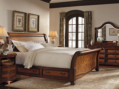 Napa King Storage Bed