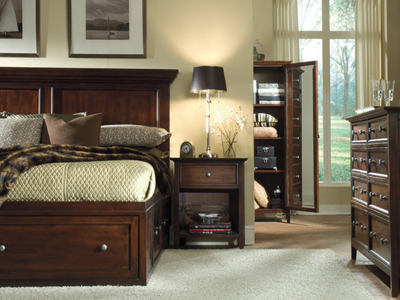 Spencer King Storage Bed