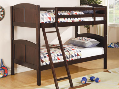 Bunk Twin over Twin Bunk Bed