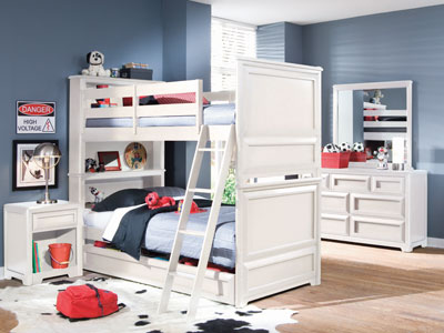 Reflections Twin over Twin Bunk Bed