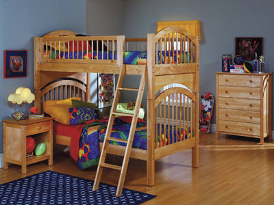 Birch Twin over Twin Bunk Bed