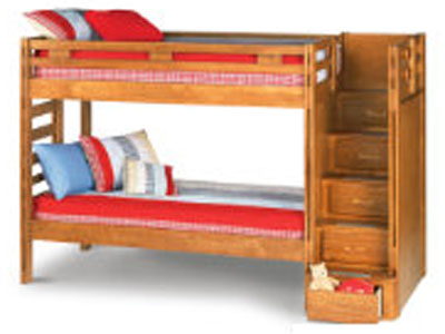 Creekside Twin/Twin Storage Step Bunk