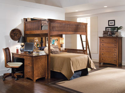 Crossover Twin Loft Bed