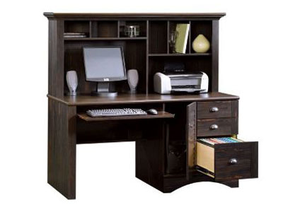 Harbor View Desk with Hutch