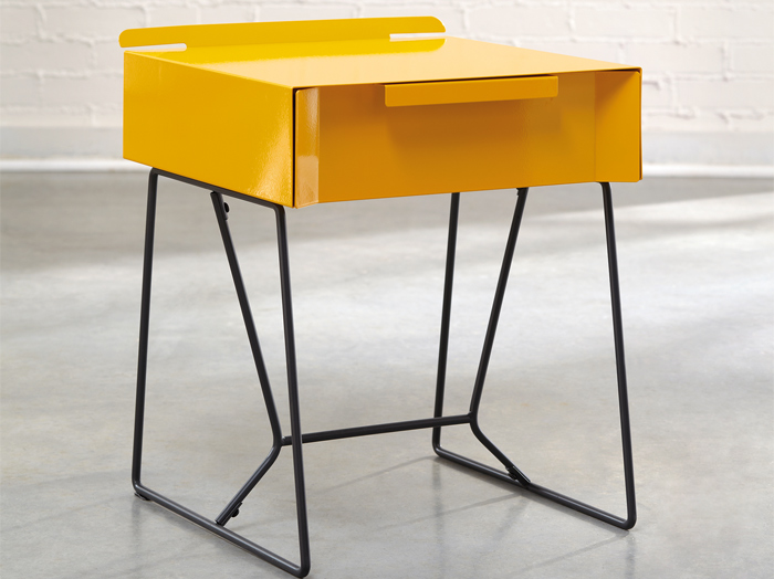 Soft Modern End Table