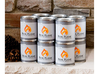 Real Flame 12 Pack Gel Fuel Cans