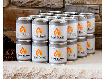 Real Flame 24 Pack Gel Fuel Cans
